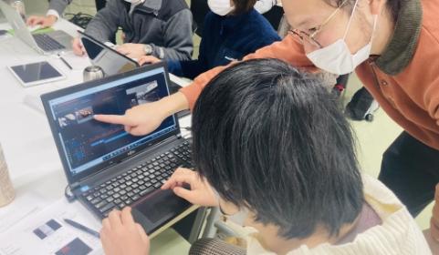 Web制作講座の写真
