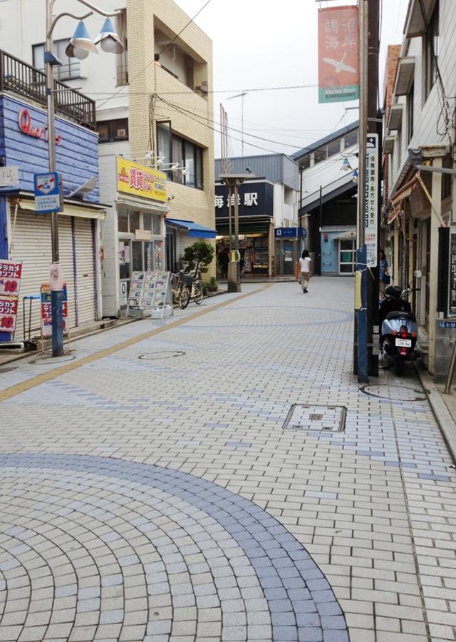 湘南の商店街