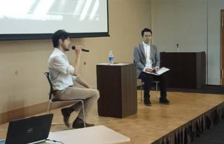 三鷹書人の会書展 記念講演会
