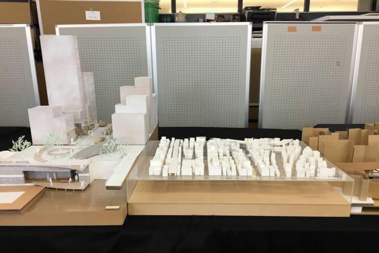 菊池さんが大学で作った模型