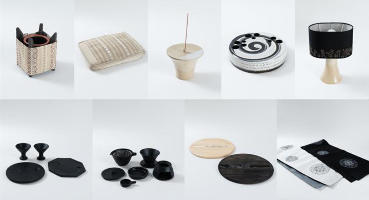 「家庭画報」とコラボレーションし開発した福岡県の伝統工芸品の新商品