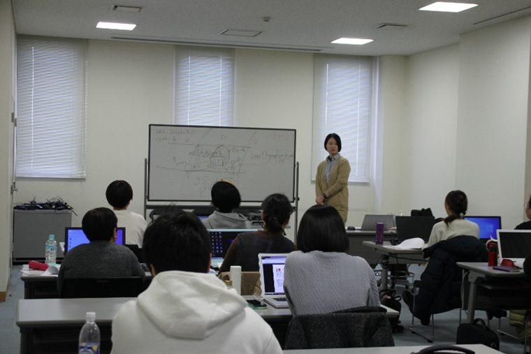 秋田県鹿角市で「ホームページ構築講座」の様子