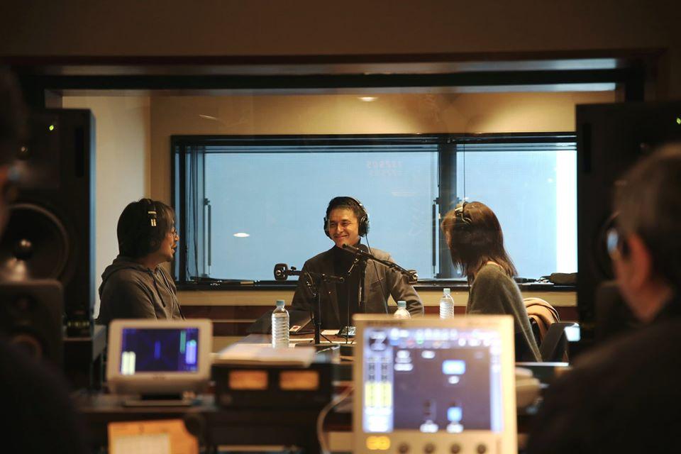 TOKYO FM『SUNDAY'S POST』撮影風景