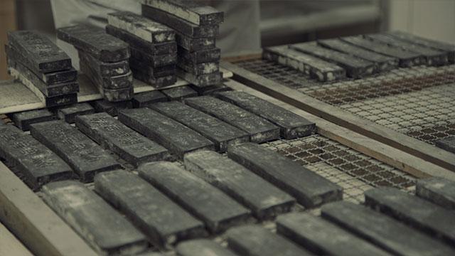 伝統工芸墨職人|喜壽園