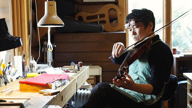 ヴァイオリン職人|平原ヴァイオリン工房